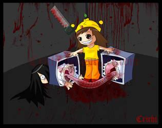 Crichi vs. Sadako by Dibujando-net