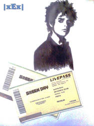 Sketch -  Billie Joe Armstrong Green Day by xExDxUxAxRxDxOx