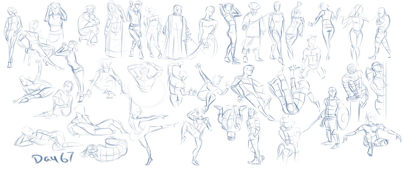 Figure exercises - Day 67 by Dante-mL