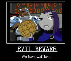 Evil Beware by PhantomGirl