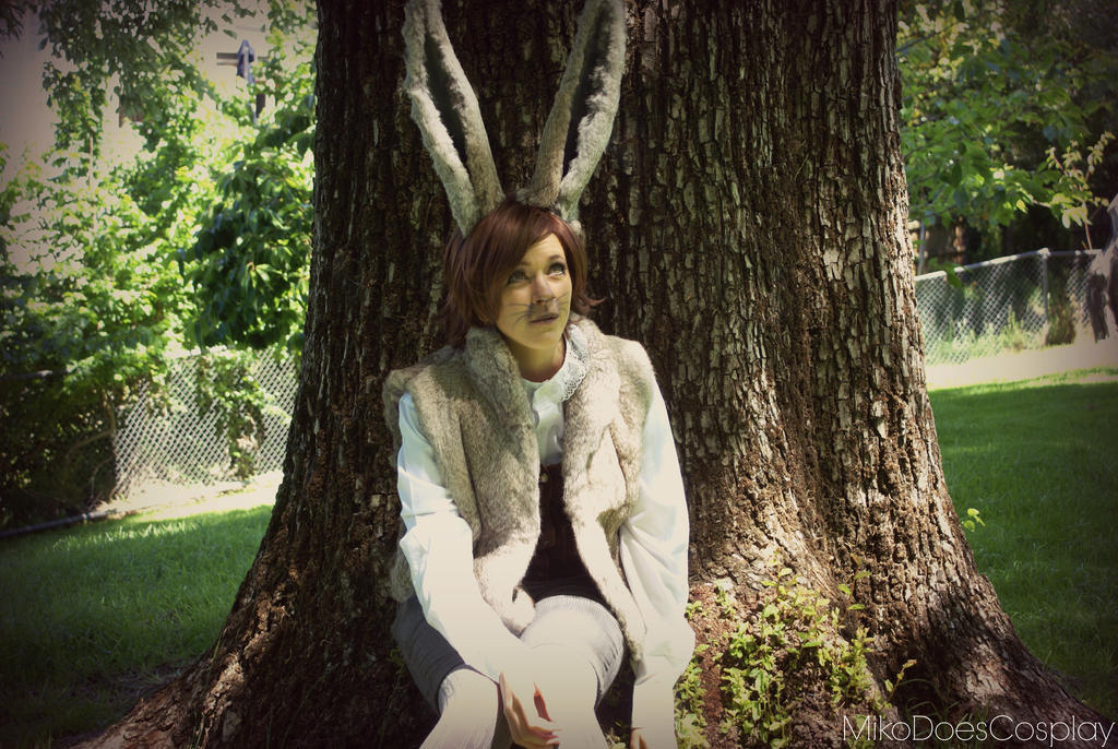 March hare alice in wonderland by mikodoescosplay on for March hare wallpaper