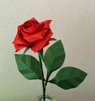 How To Make Origami Rose With Images
