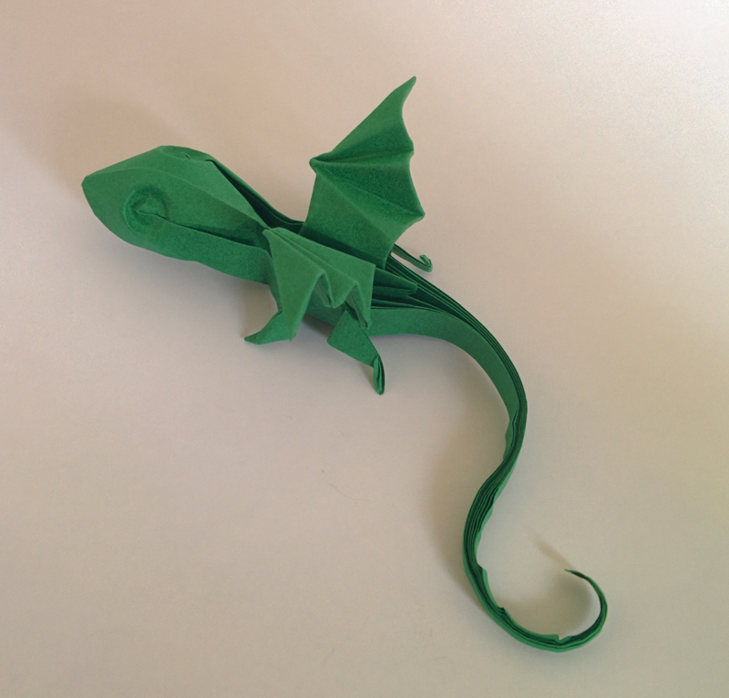 Origami snake images - Origami Baby Dragon By Haardod On Deviantart