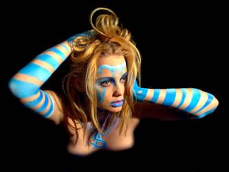 Beauty in Blue 007 by crumpstock