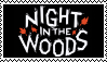 Night in the Woods Stamp by WinterFrostDragon