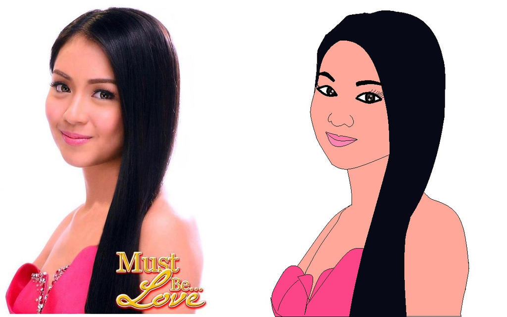 Kathryn Bernardo drawing (Ms Paint) by MyxRocks12 on DeviantArt