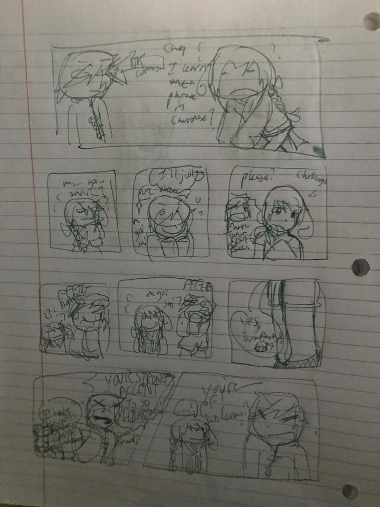 Some dumb comic by TaishanCantonArtist