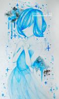 Blue Pearl by aimmayaya