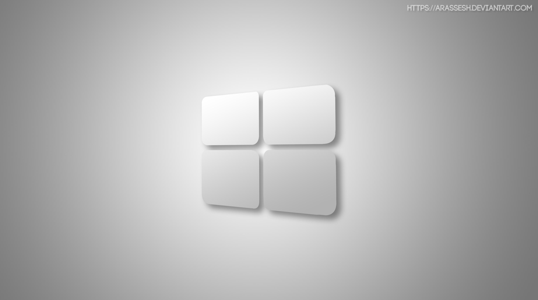 Windows 10 White Wallpaper By Arassesh On DeviantArt