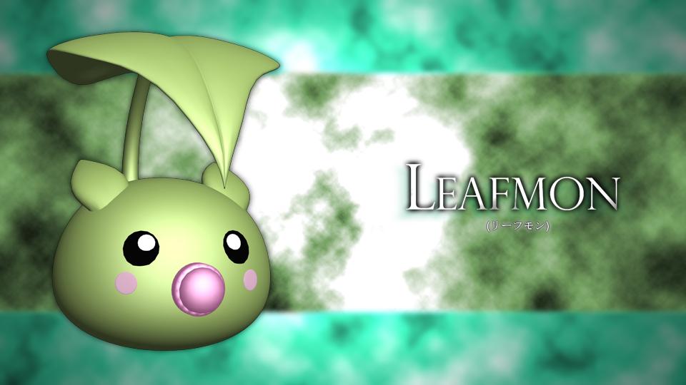 Leafmon-3d by RhapzJPC