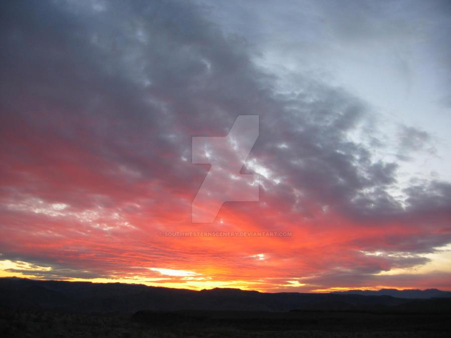 Fire in the Sky by southwesternscenery