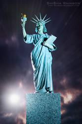 Miss Liberty from New York