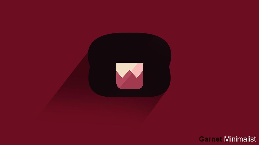 Steven Universe #Garnet - Minimalism by crudeassassin on