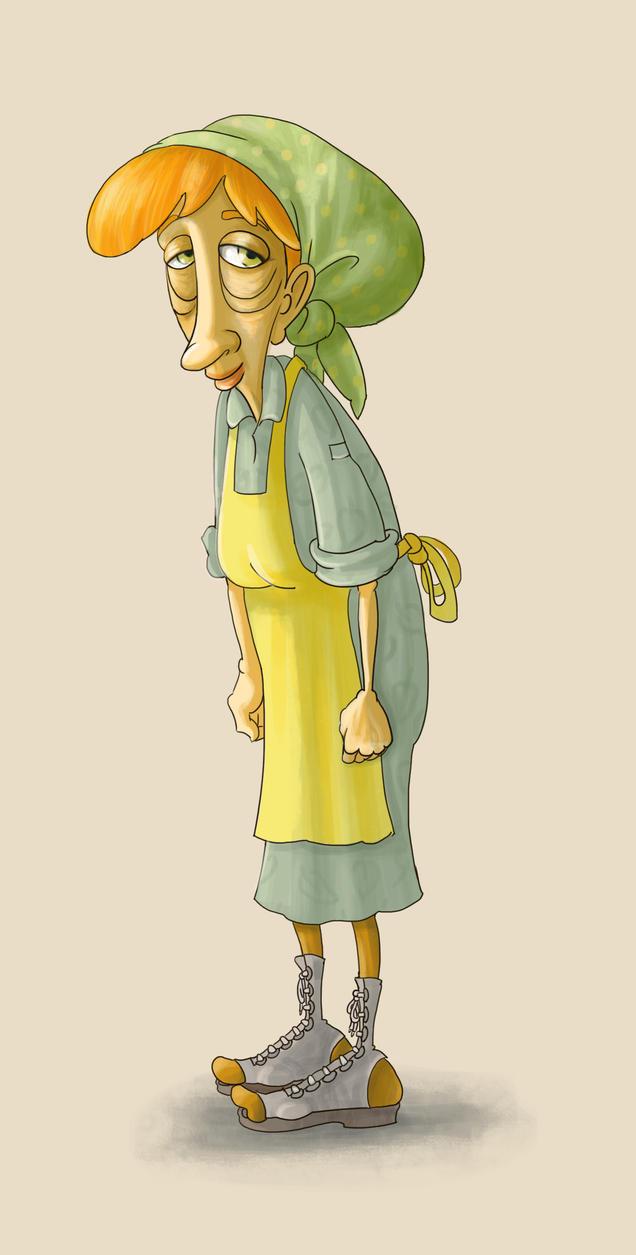 Old  woman by balgeza