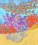 Little octopus by balgeza