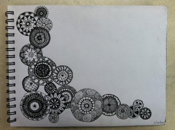 zentangle circles