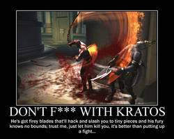 Don't F--- with Kratos by Volts48