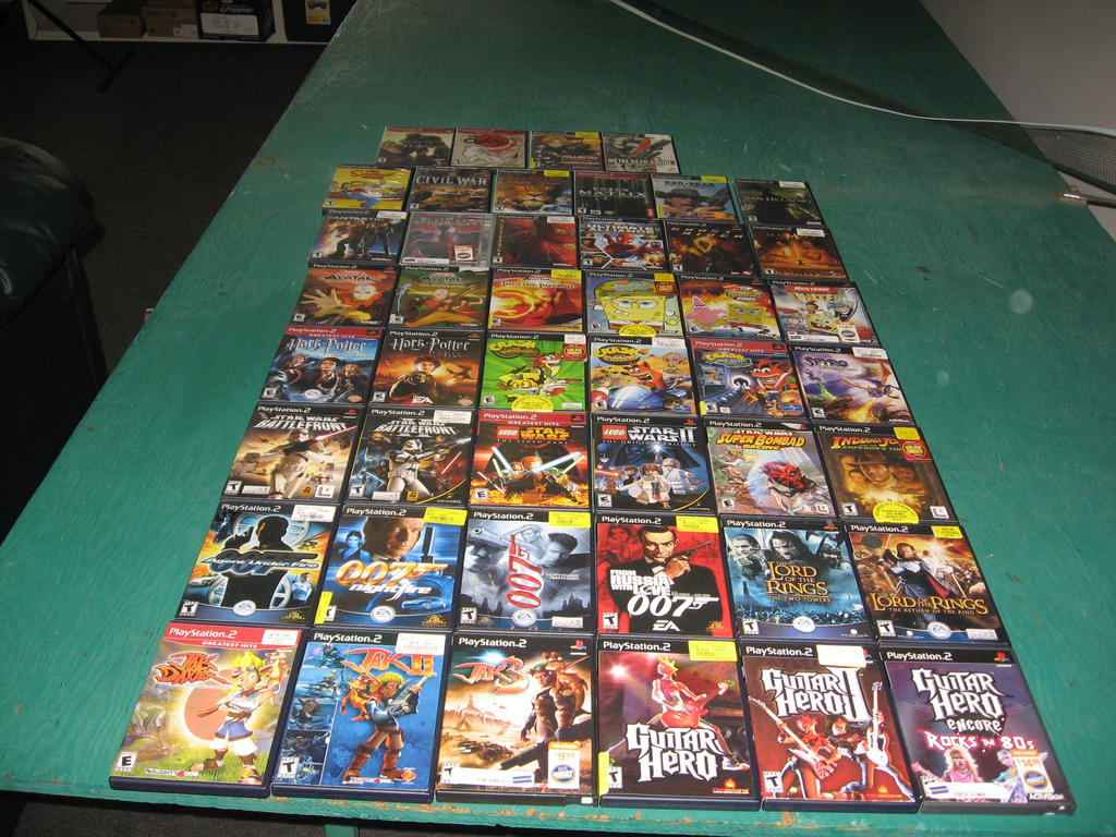 Ps2 Games All Of Them : All my ps games by volts on deviantart