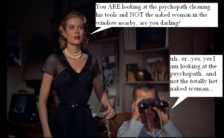 rear window parody