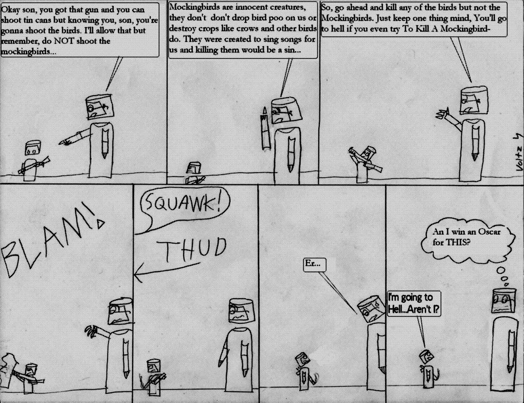 To Kill A Mockingbird Parody By Volts48