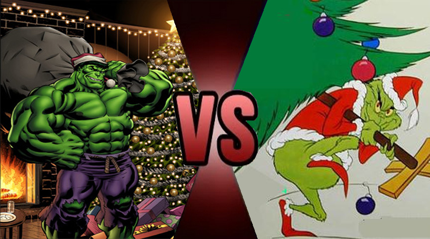 Death Battle The Hulk vs The Grinch 2 by Volts48