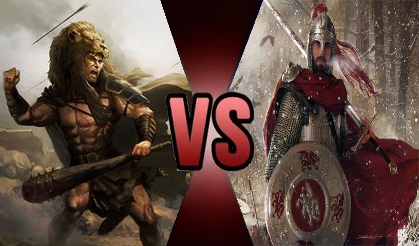 beowulf vs achilles Beowulf vs achilles essaysin mythology and legend, a man, often of divine ancestry, who is endowed with great courage and strength and celebrated for his bold exploits, is thought of as a hero.