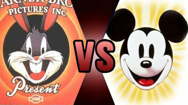 Death Battle Bugs Bunny vs Mickey Mouse by Volts48