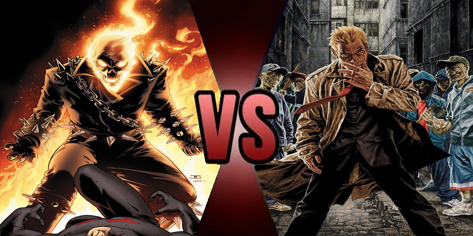 Death battle Ghost Rider vs John Constantine by Volts48