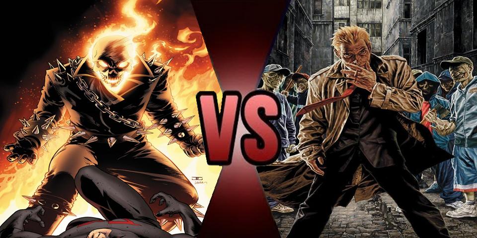 Db Ghost Rider Vs John Constantine Prelude By Volts48 On Deviantart
