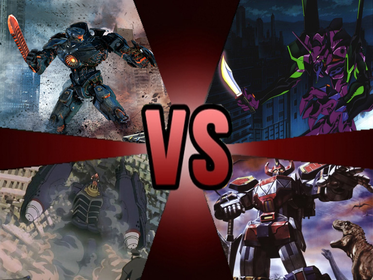 Death Battle Giant Robot Battle Royale by Volts48