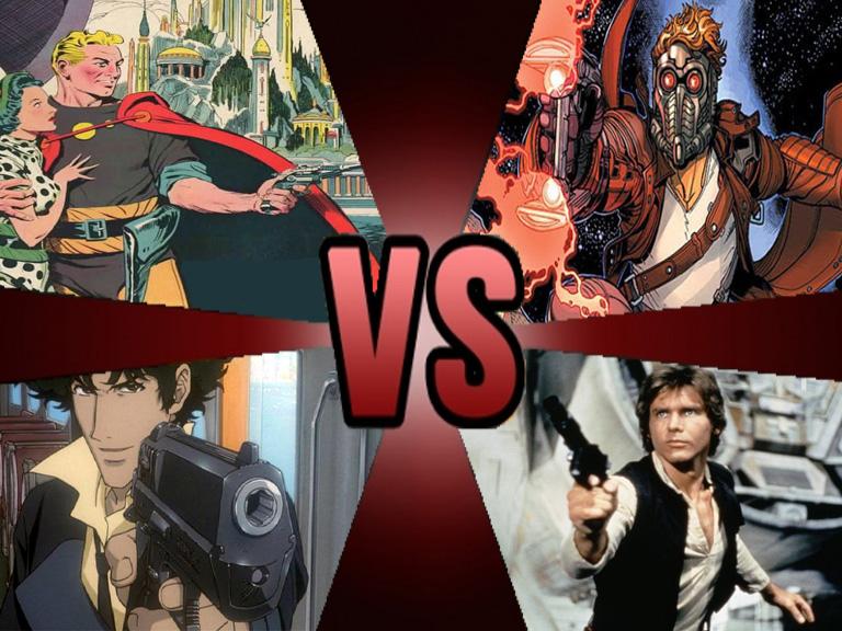 Death battle Sci-Fi Hero Royale by Volts48
