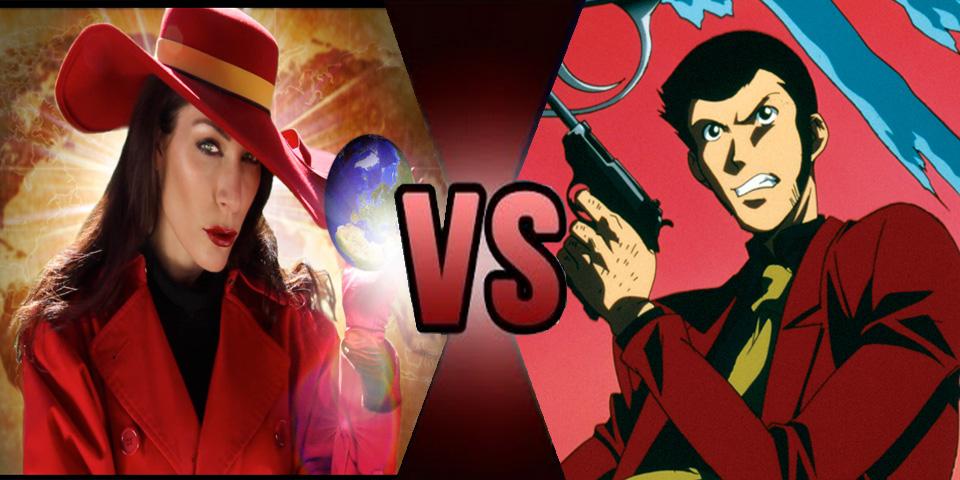 Death battle Carmen Sandiego vs Lupin III 3 by Volts48