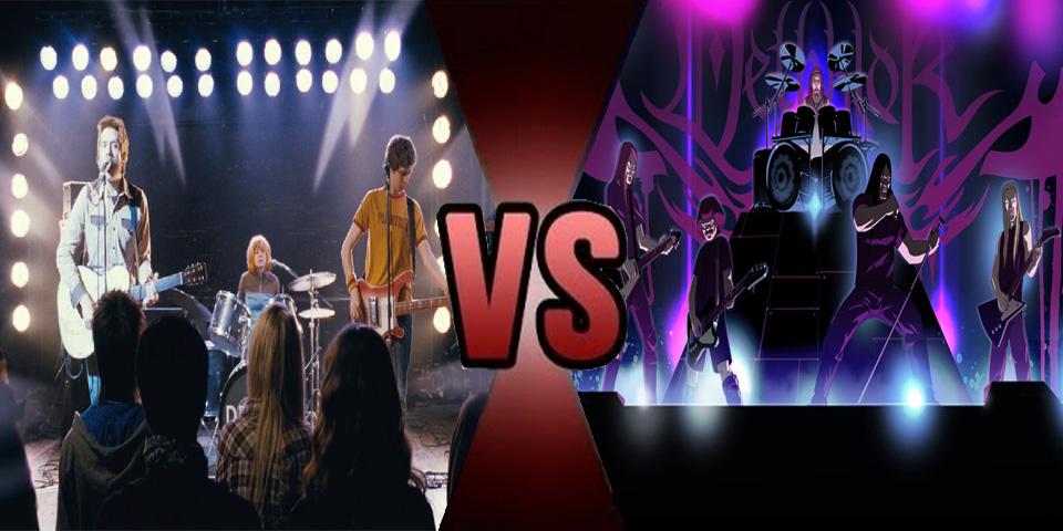 Death Battle Sex Bob-Omb vs Dethklok by Volts48