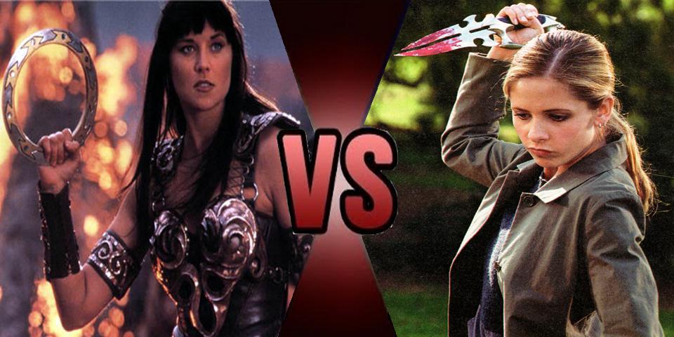 Death battle - Xena vs Buffy by Volts48