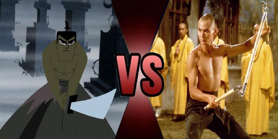 Death Battle Samurai Jack vs San Te by Volts48
