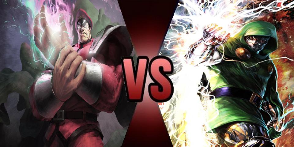 Death Battle - M Bison vs Dr Doom by Volts48