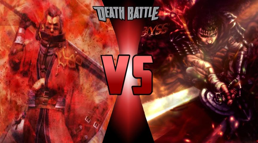 DB - Auron vs Guts by Volts48