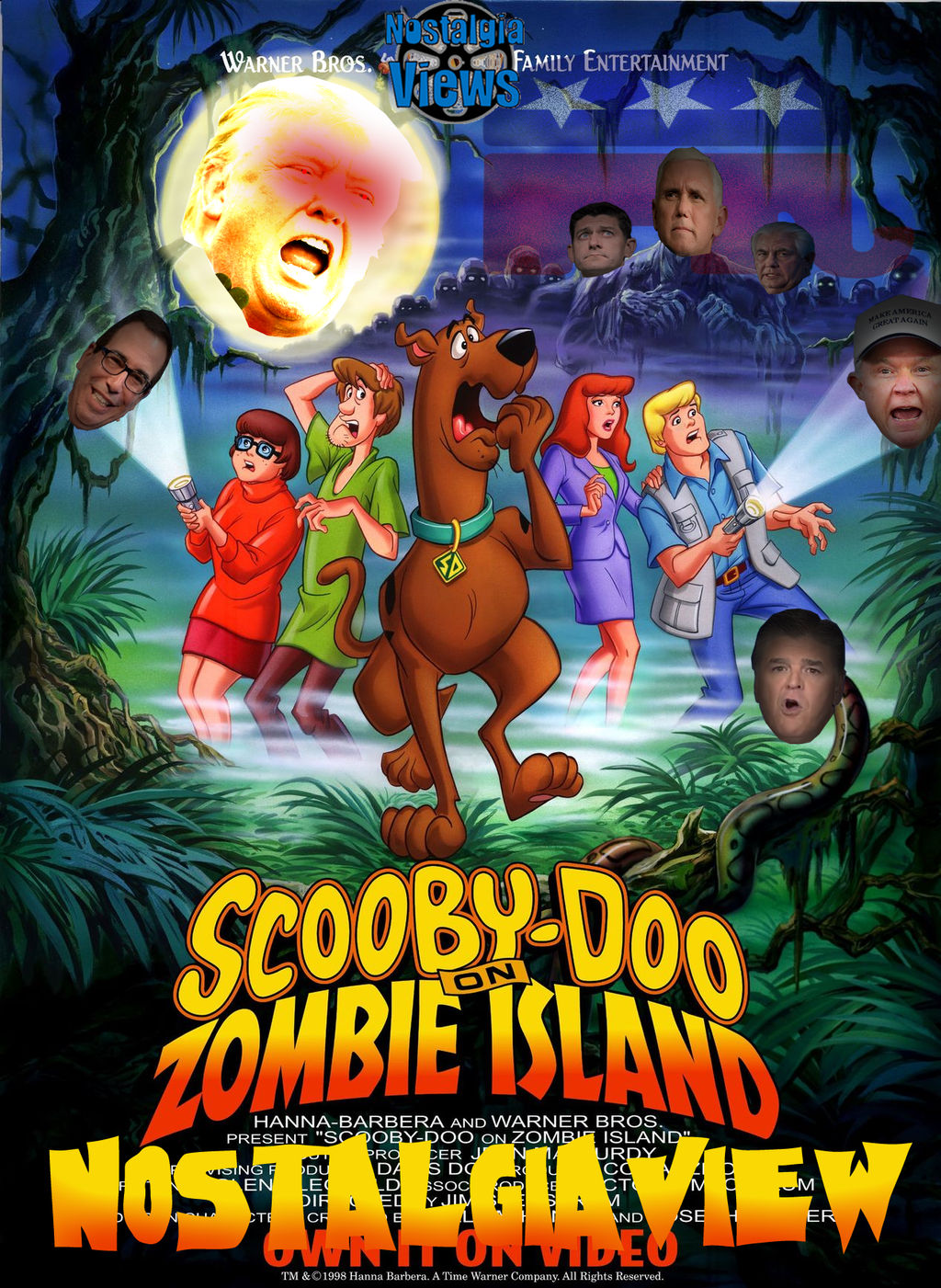 Nostalgiaviews Scooby Doo On Zombie Island By Volts48 On Deviantart