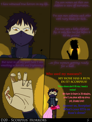 D20 - Scorpius' Horrors - short comic by Volts48