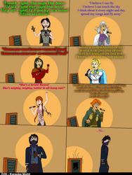 D20 - Karaoke Night - Short comic by Volts48