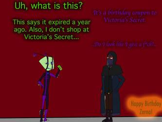 Zerna's 2018 birthday gift by Volts48