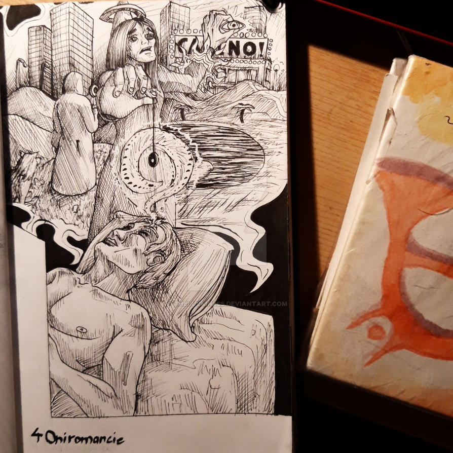 Inktober 4 guilde des createurs by TheLuckiness