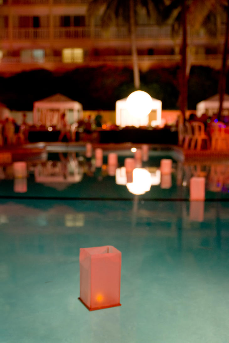Candle Floating In Pool By Carolinerutland On Deviantart