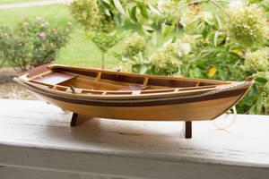 Wooden Row Boat by LadyCarolineArtist