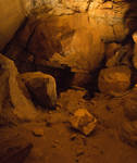 Cave Wall with Dirt Floor
