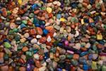 Multicolored Polished Rock