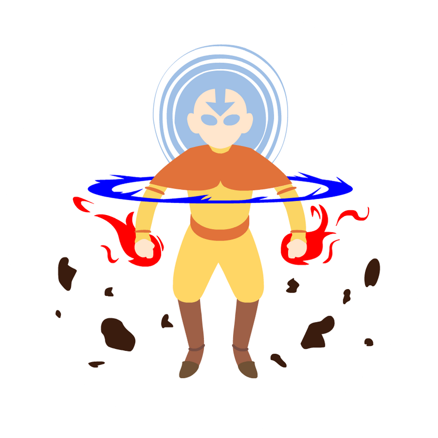 Avatar Aang by scribblespoon