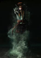 Elemental Persian Warrior