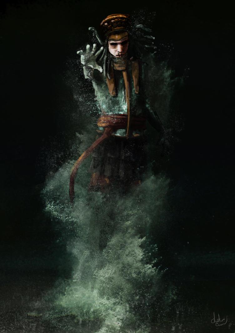 Elemental Persian Warrior by Chestbearman