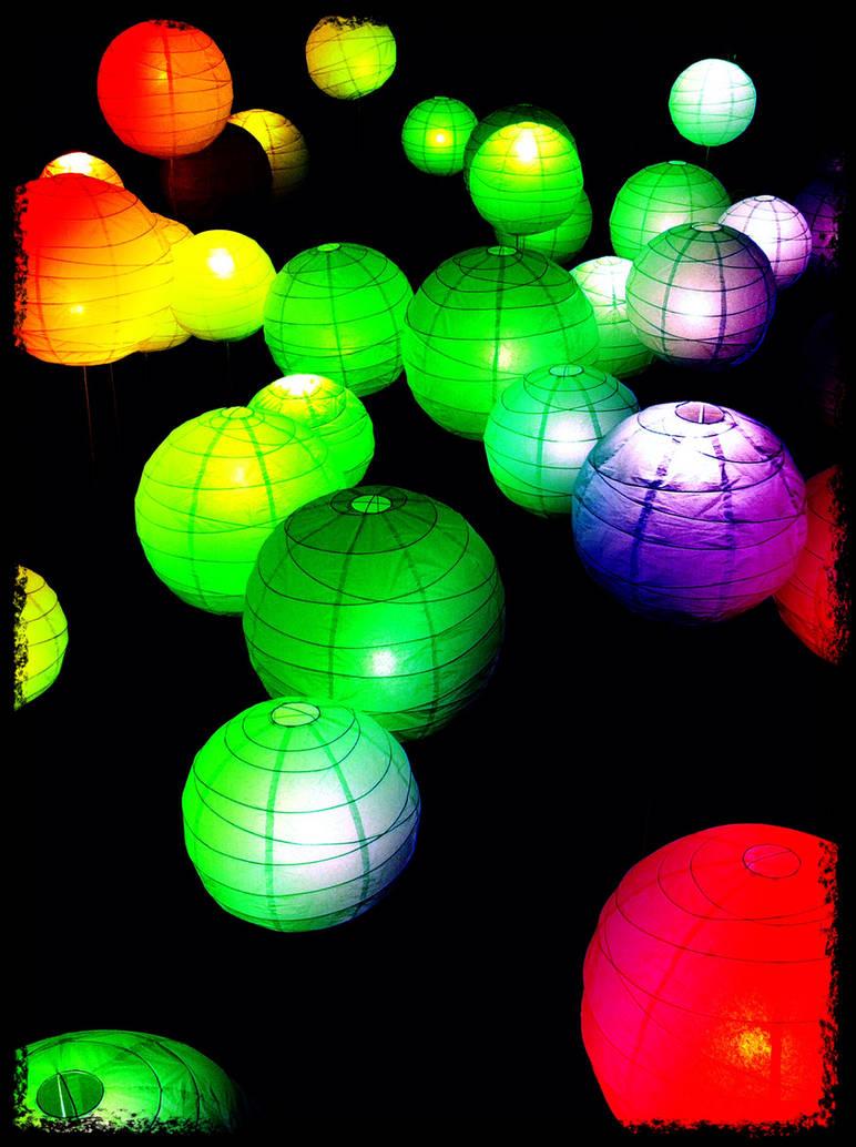 Electric Balloons - Rainbow